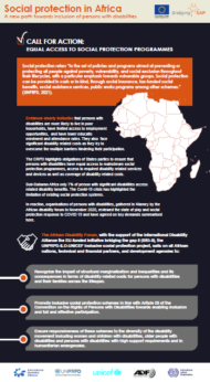 Infographics - Inclusive Social Protection in Africa