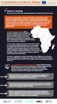 Infographie Protection Sociale Inclusive en Afrique