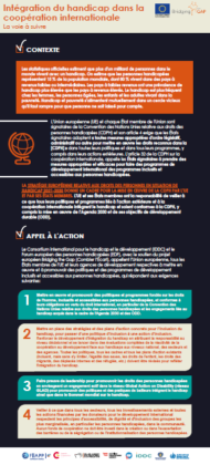 Infographie Coopération Internationale Inclusive