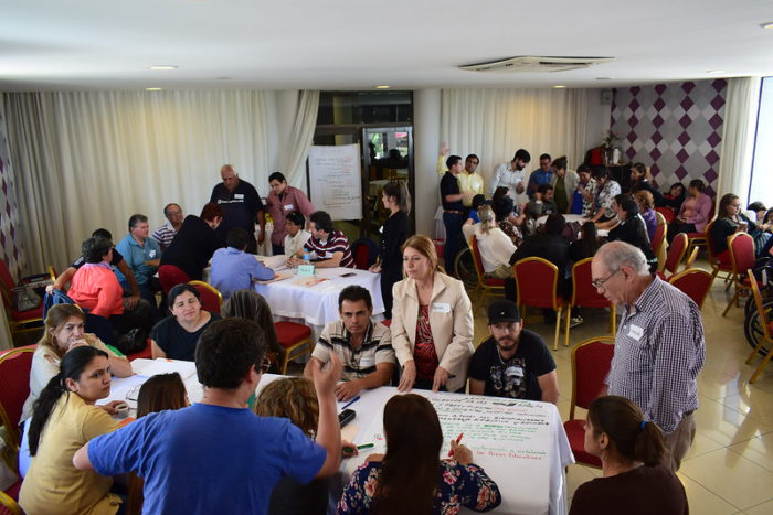 tenth meeting of organisations of persons with disabilities in Paraguay