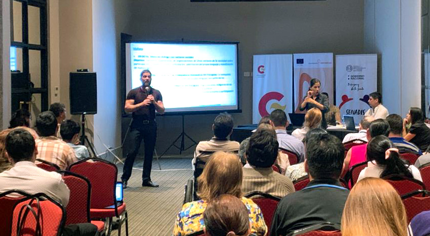presentation at the second national meeting of BtG in Paraguay