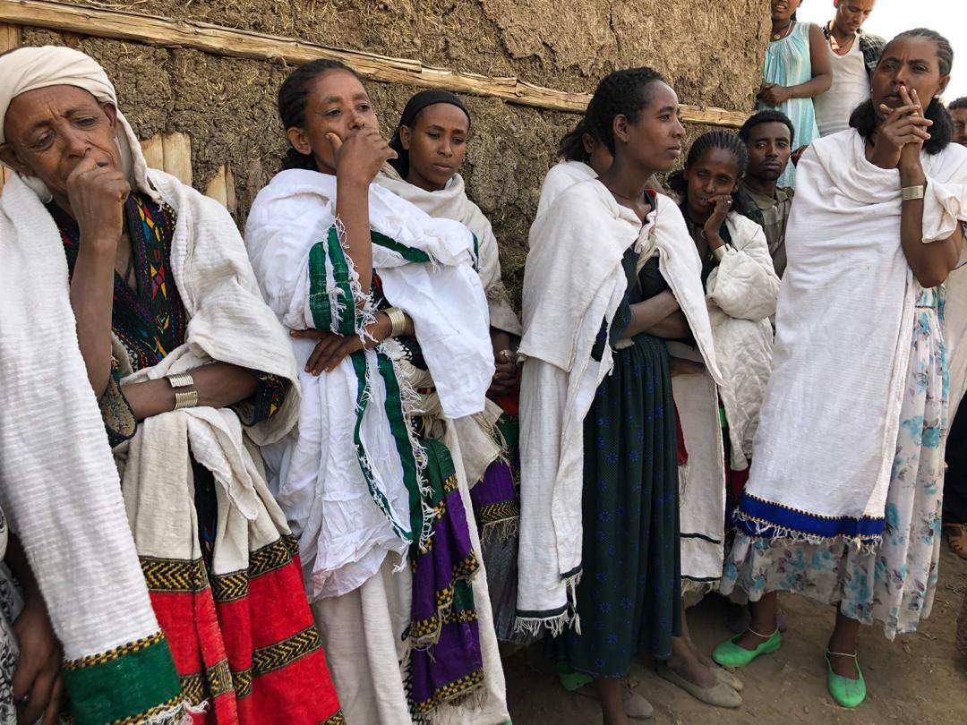 Ethiopian women in East Belesa