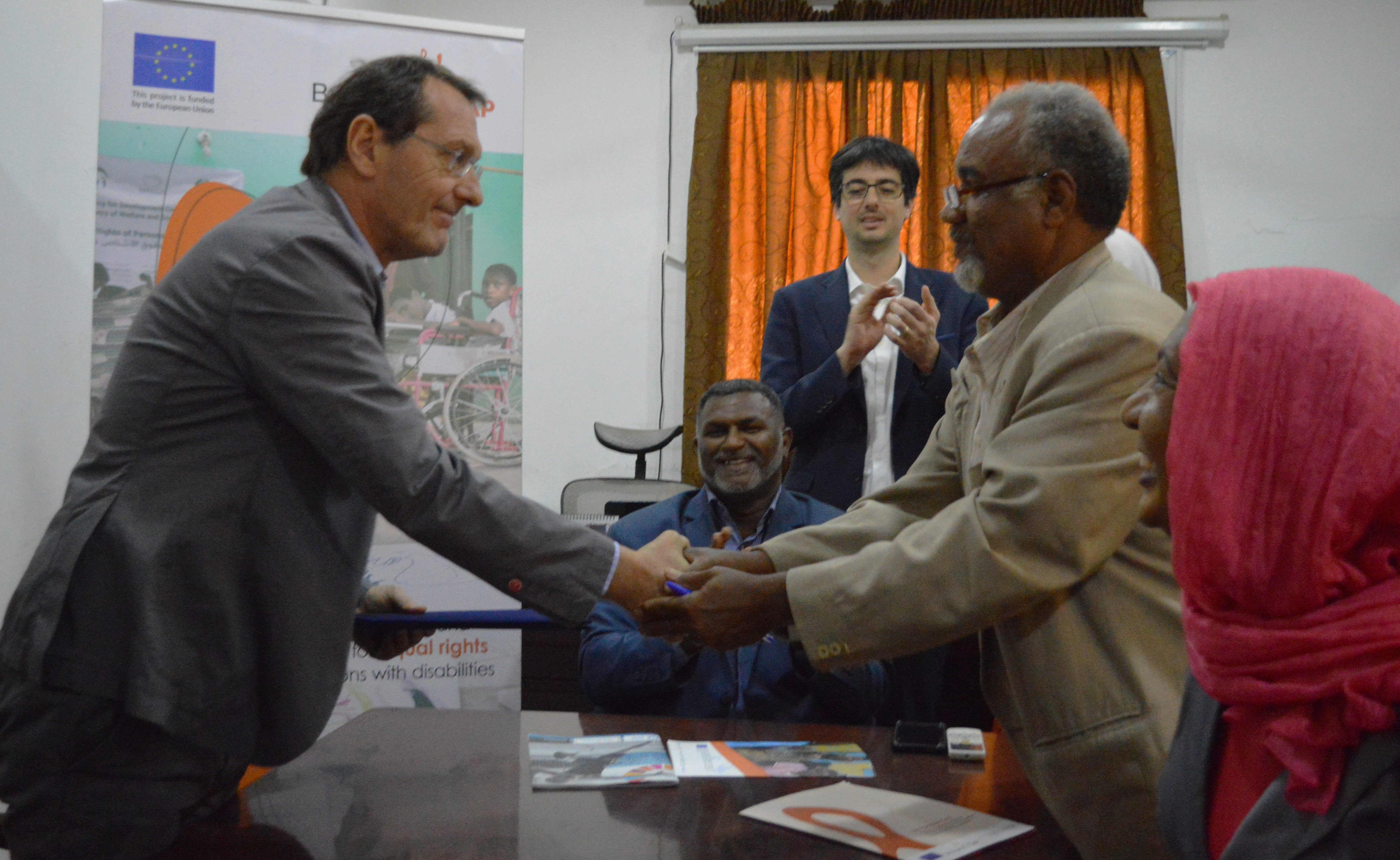 Signature of subgrants between AICS and the OPDs in Sudan