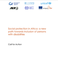 cover of the call for action