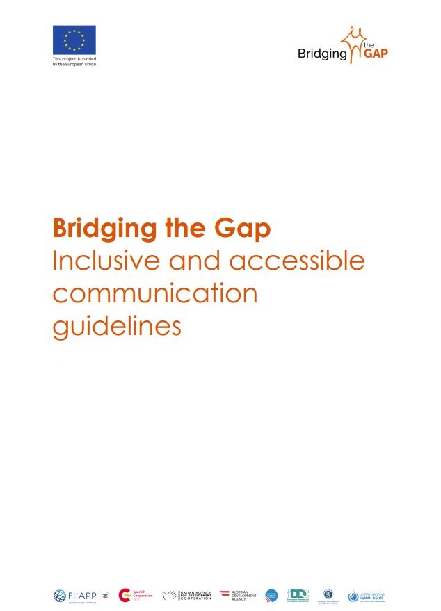 Cover Inclusive and accessible communication guidelines