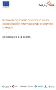 Llamamiento a la acción - Inclusión de la discapacidad en la cooperación internacional