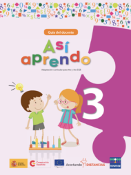 Cover teacher's guide Así aprendo 3