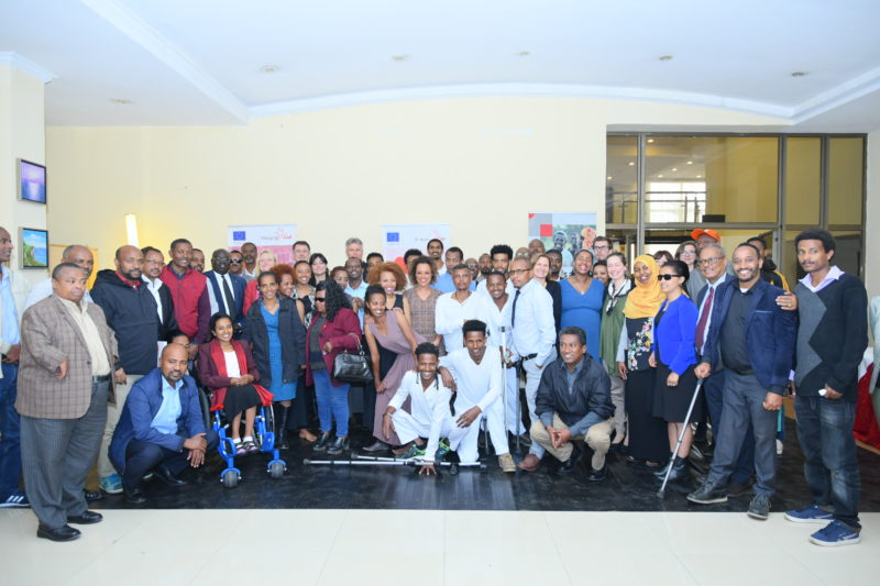 Family picture of the launch in Ethiopia