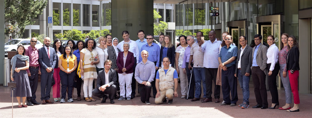 Group photo validation meeting OHCHR