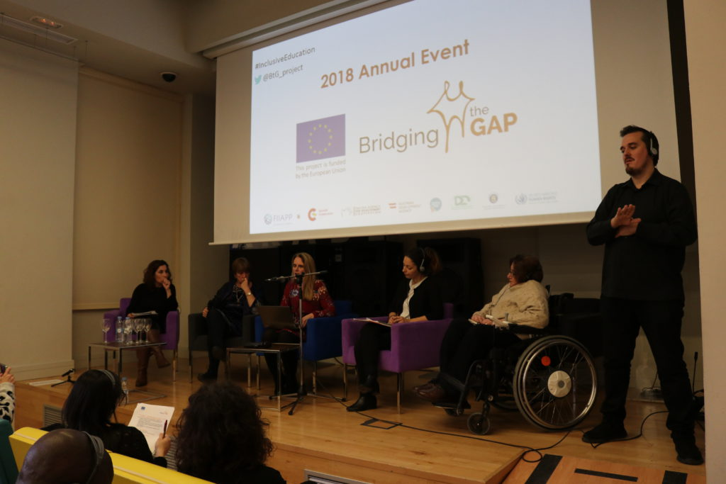 segundo panel de debate evento anual de Bridging the Gap