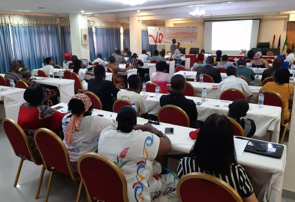 participants of the training held in Burkina Faso